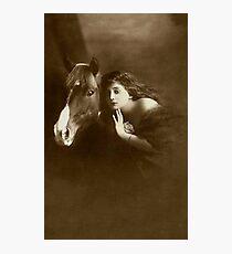 Vintage *Elegant Friendship* Photographic Print
