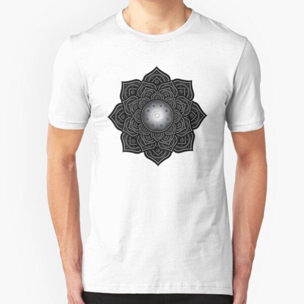 Mandala Handpan Pantam Slim Fit T-Shirt