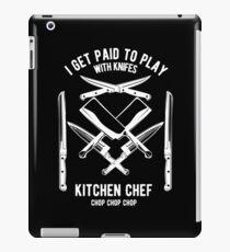 Koch - Koch T-Shirt - Chefkoch - Messer - Lustig iPad-Hülle & Klebefolie