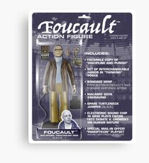 Foucault Action Figure  Canvas Print