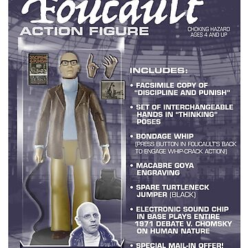 Foucault Action Figure  by GiantsOfThought