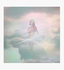 king princess pussy is god Photographic Print