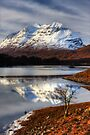 Liathach, The Tree, and Loch Clair. North West Scotland. by PhotosEcosse