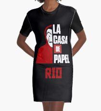 la casa de papel Graphic T-Shirt Dress