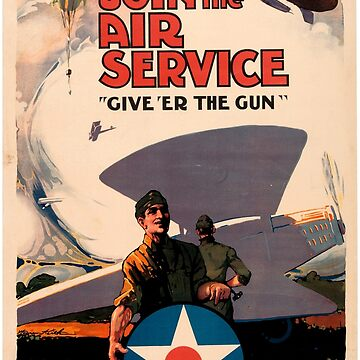 Join The Air Service  by NativeAmerica