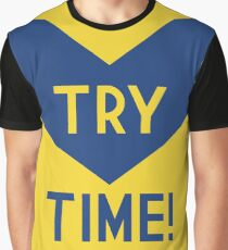 TRY TIME!  - Eels Graphic T-Shirt