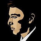 The Godfather Part I - Michael Corleone by Tom Heron