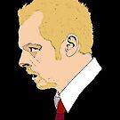 Simon Pegg - Shaun Of The Dead by Tom Heron