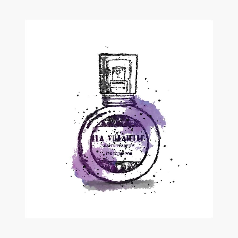 La Villanelle Perfume Watercolour Print Photographic Print