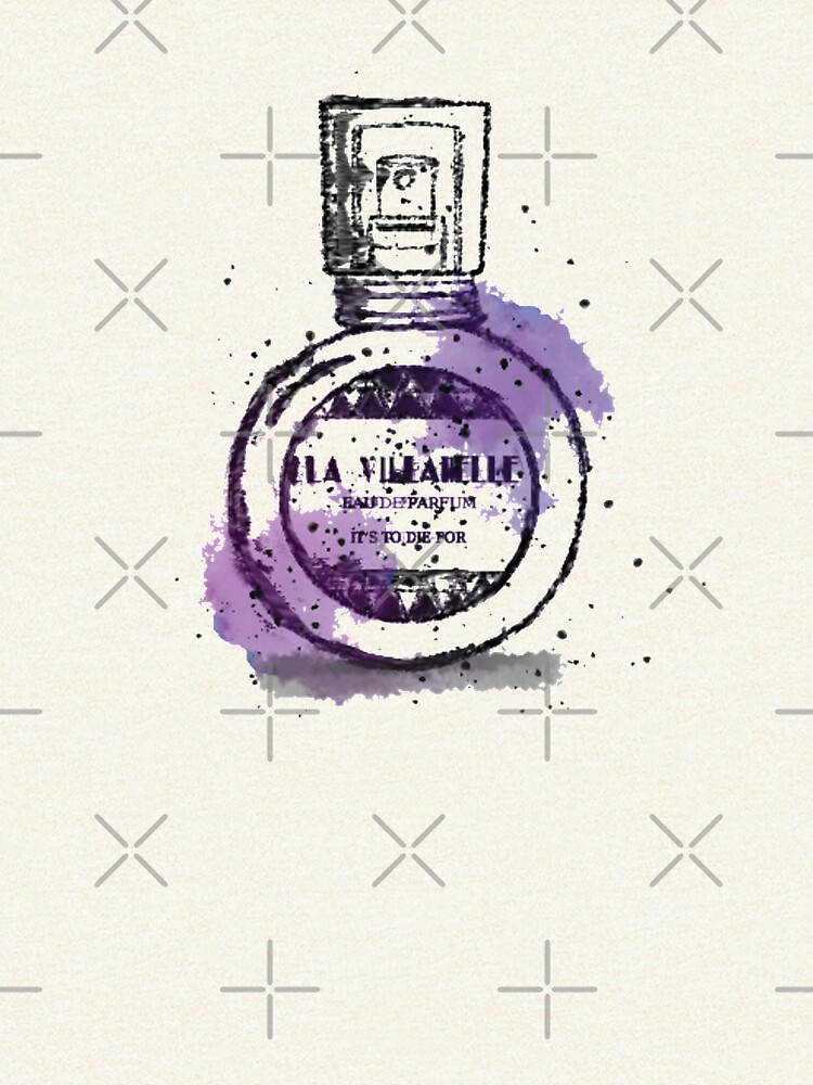 La Villanelle Perfume Watercolour Print by leeseylee