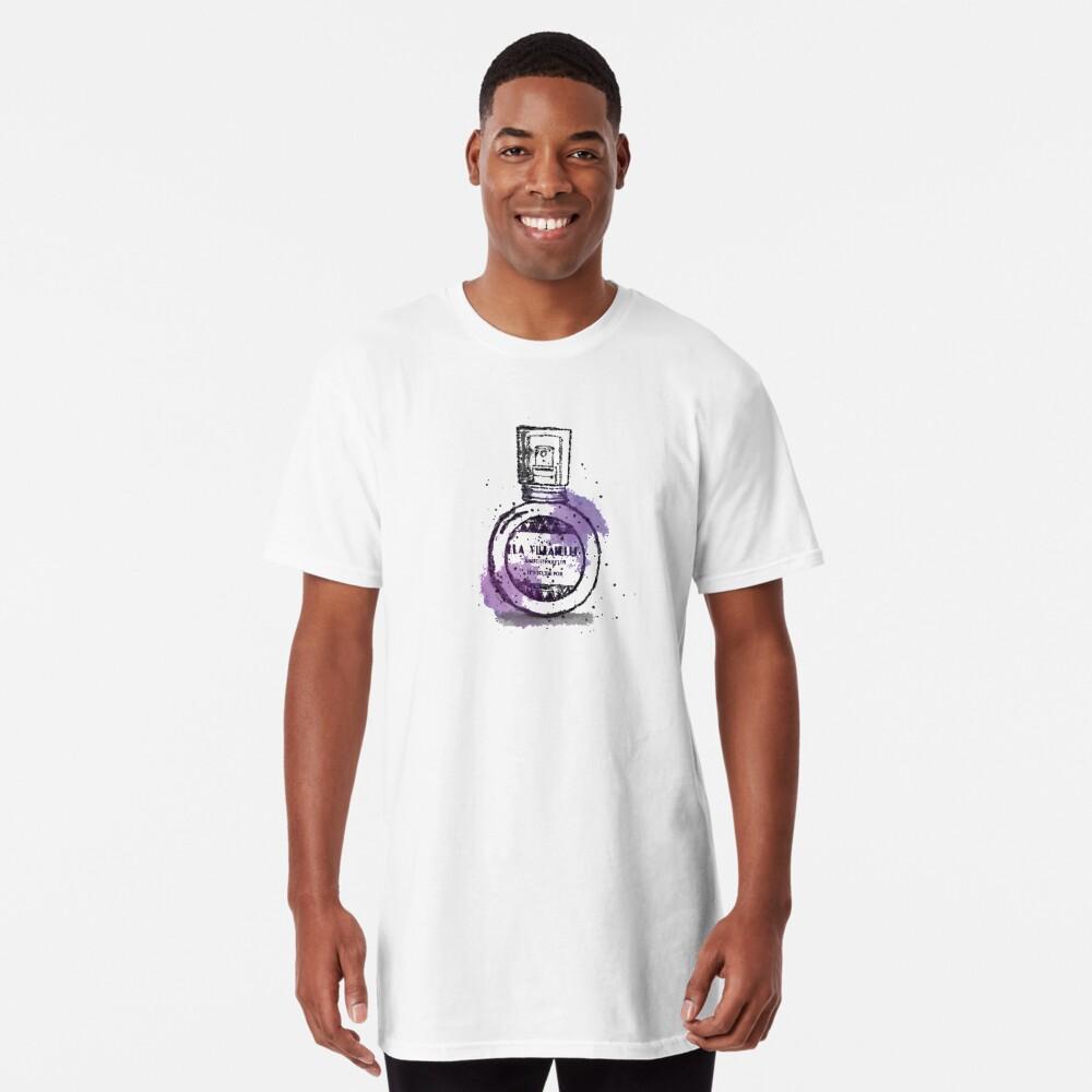 La Villanelle Perfume Watercolour Print Long T-Shirt
