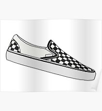 Vans Slip on - Checkerboard Poster