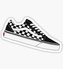 Vans Old Skool Low - Checkerboard Sticker 8060317cd581