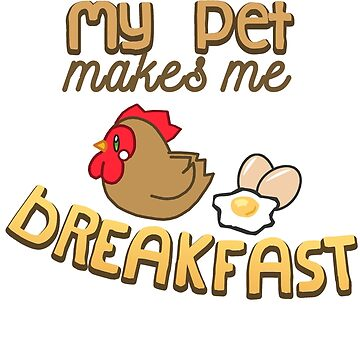 My Pet poops Breakfast by KaiFx19