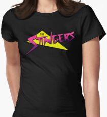 THE STINGERS (JEM´S RIVAL) Women's Fitted T-Shirt