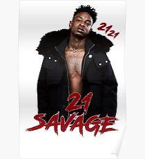 21 SAVAGE - 21 21 Poster