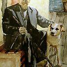 Retired Shrimper by Jim Phillips