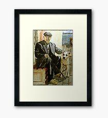 Retired Shrimper Framed Print