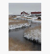 A river runs through it Photographic Print