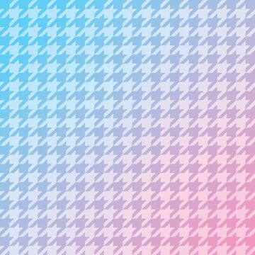 Houndstooth Gradient by vertigocreative