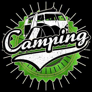 Camping Retro by S-p-a-c-e