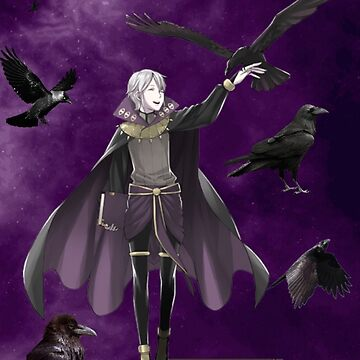 Henry with crow pals by SmolYoonbum