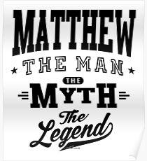 Matthew Tees Poster