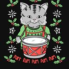 Christmas Cat | Little Drummer Kitty by Kittyworks