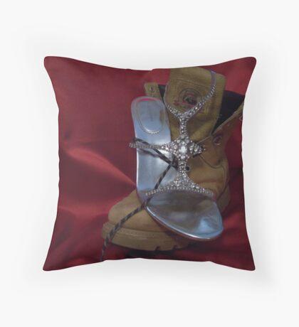Sole Mates Throw Pillow