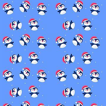 Christmas Penguins by LaPetiteBelette
