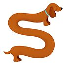 Sausage Dog by whittledesign