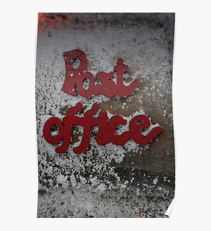 The christmas post office Poster