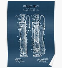 CADDY BAG blueprint Poster