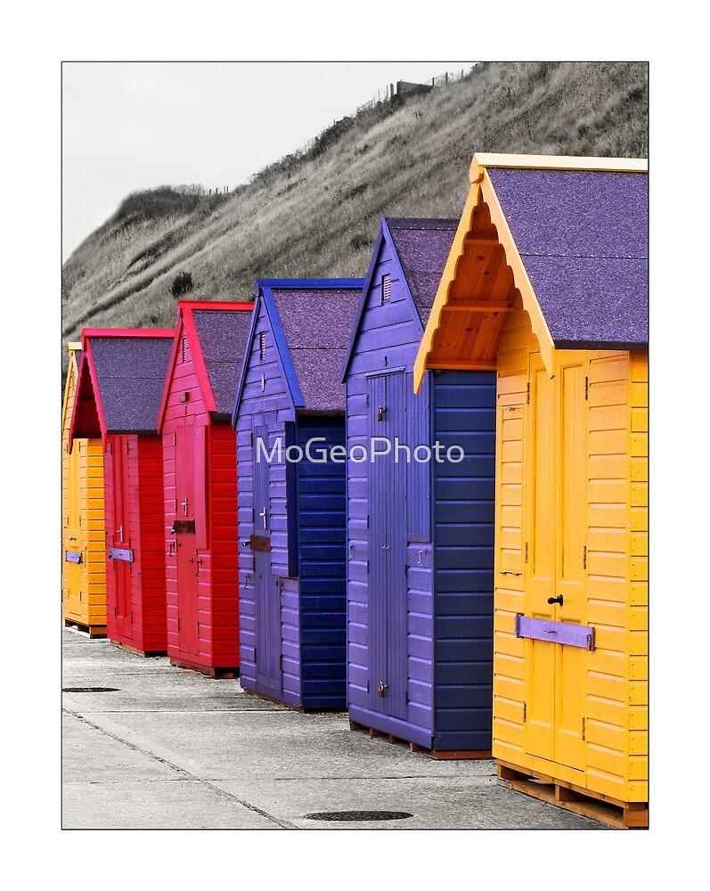 Beach Huts - (Sherringham) by MoGeoPhoto