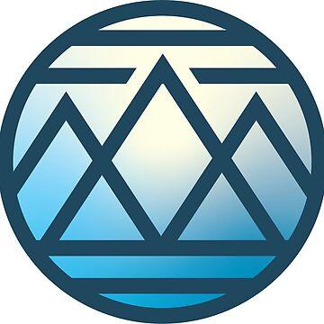 Emblema de la montaña azul de jmcollins497