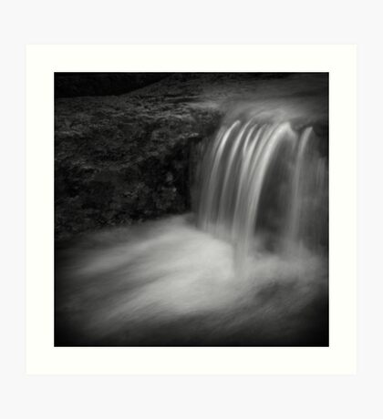 vannfall Art Print
