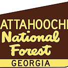 Chattahoochee National Forest Georgia Park by MyHandmadeSigns