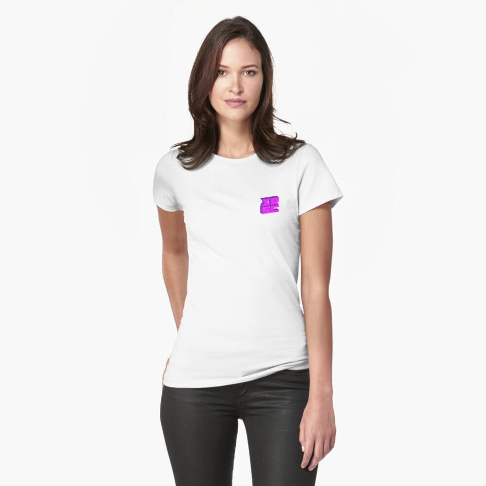 XRSC - Purple Womens T-Shirt Front