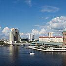 Panoramic of downtown Tampa, Florida by Adam Nixon