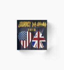 JOURNEY BAND TOUR 2018 FAI Acrylic Block