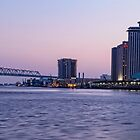 New Orleans Blue Hour by Kay Brewer