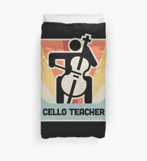 Cello Teacher / Cello Lessons Instructor Duvet Cover