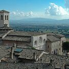 St. Clare of Assisi - Italy by Bob  Perkoski