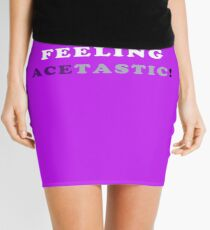 ASEXUALITY FEELING ACETASTIC ASEXUAL T-SHIRT Mini Skirt