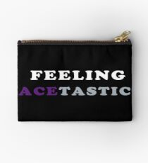 ASEXUALITY FEELING ACETASTIC ASEXUAL T-SHIRT Studio Pouch