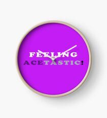 ASEXUALITY FEELING ACETASTIC ASEXUAL T-SHIRT Clock