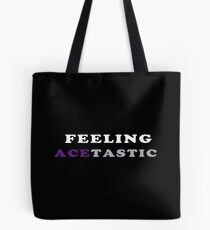 ASEXUALITY FEELING ACETASTIC ASEXUAL T-SHIRT Tote Bag