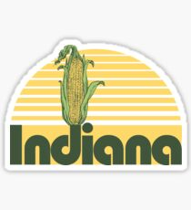 Indiana Corn Sticker