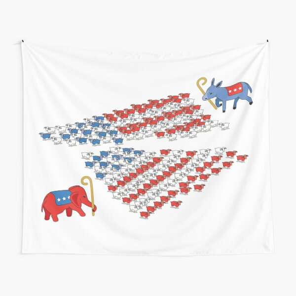 United States Political Divide  Tapestry