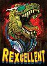 Excellent Tyrannosaurus Rex Chillin by MudgeStudios